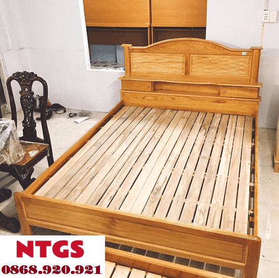Những Mẫu Giường Gỗ Đẹp Đơn Giản Lên Ngôi2