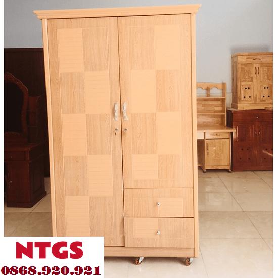Mẫu Tủ Quần Áo Thanh Lý Chất Lượng tại NTGS8