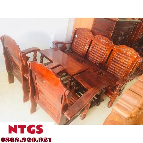Mua Bàn Ghế Gỗ Phòng Khách Ở Đâu Giá Rẻ Tại TPHCM3