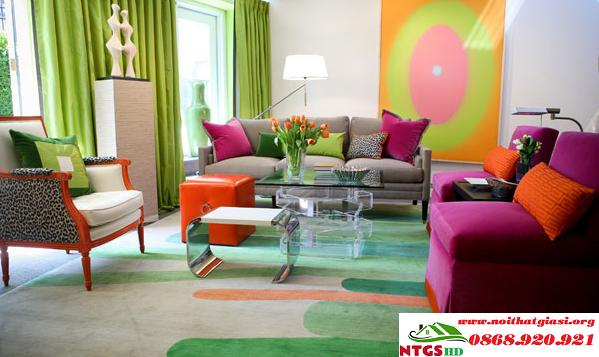 Lựa Chọn Màu Sắc Sofa Phù Hợp Với Phòng Khách