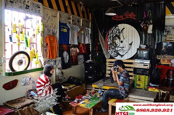 Ý Tưởng - Phong Cách Quán Cafe Thu Hút Khách Hàng-2