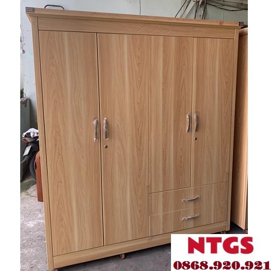 tủ quần áo gỗ công nghiệp hiện đại