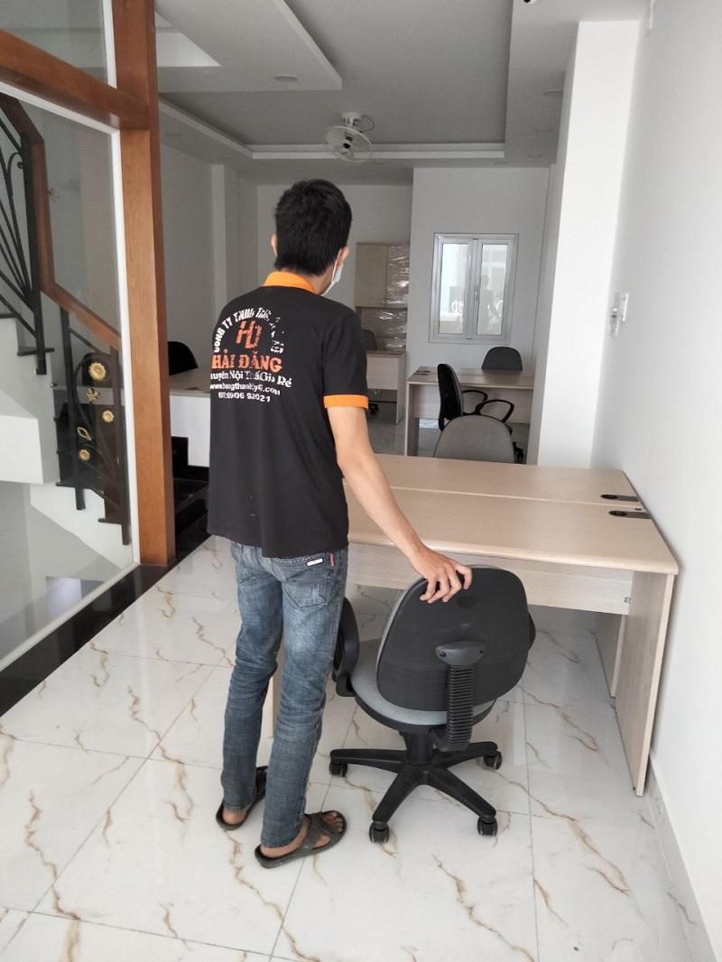 bàn ghế làm việc củ chi