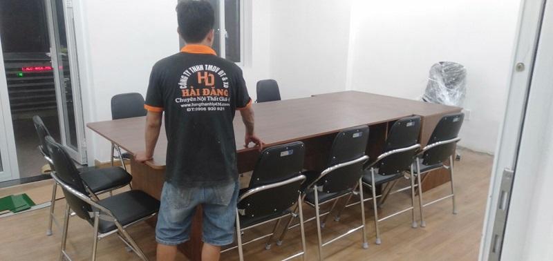 mua bàn ghế làm việc giá rẻ quận 3