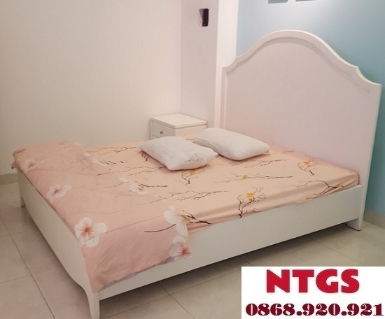 thi công giường 1m8x2m giá rẻ tại tphcm