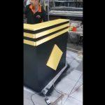 Video review quầy lễ tân đóng tại xưởng